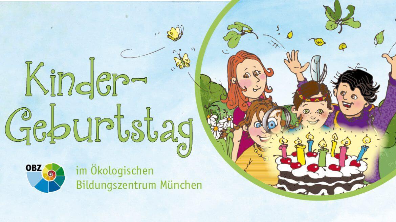 Illustration, Ökologisches Bildungszentrum München, Kindergeburtstag Programm