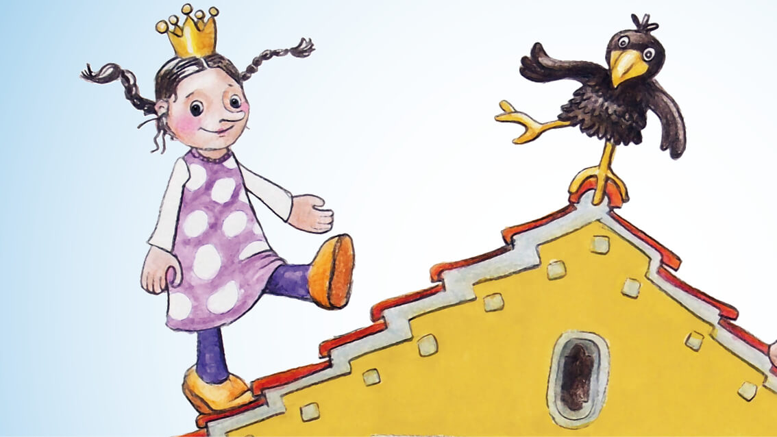 Illustration, Pupentheatertage, Stadt Bobingen, Tanja Leodolter, Kinderillustration